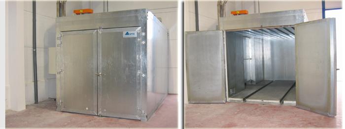 Hornos de secado y hornos de pintura acatec - Venta de cabinas de pintura ...